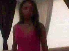 Nadia Phuket gets anal drilling in pink dress